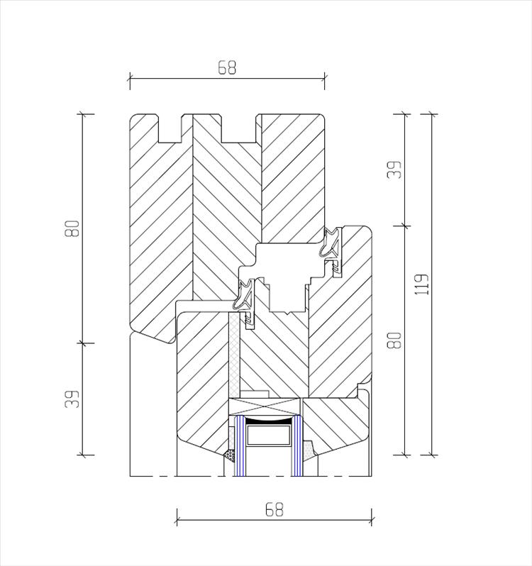 system iv 68 favorit fenster. Black Bedroom Furniture Sets. Home Design Ideas